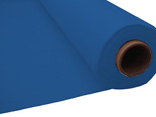 Tableware-Rolle-Tischdecke, Einweg, für Partys und Silvester blau