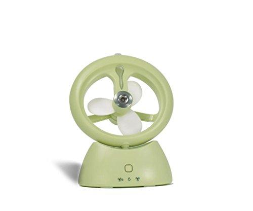 DZW USB Mini Mini Ventilador de escritorio Spray 3 Velocidad Aire Acondicionado...