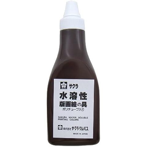 Stampe Sakura colore solubile in acqua vernice 400g tubo poly ingresso marrone AWH400PT # 12 (japan import)