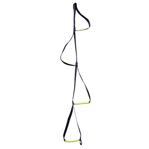 Providethebest XINDA Polyester Outdoor-Klettern Wandern aufsteigende Geräte Band-Seil-Climber Felsen-Aufstieg High Strength Fuß Padel Gürtel (Weihnachtsschmuck Beste)