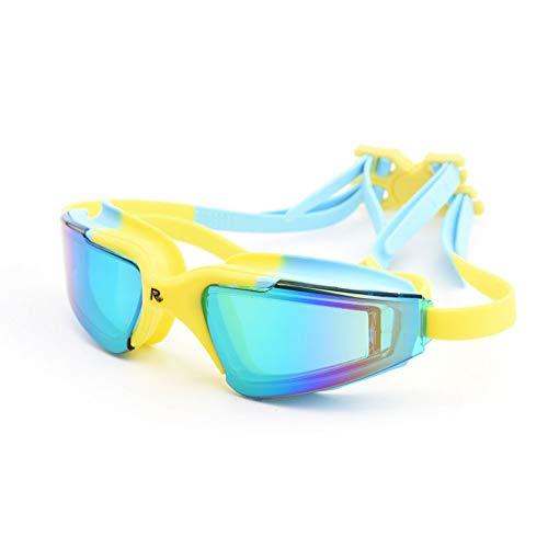 Schwimmbrillen für Erwachsene Kinder,Bestes Non Undichte Anti-Fog UV-Schutz Clear Vision Schwimmbrillen | Männer Frauen Erwachsene Schwimmbrille - Best dichtSchwimmbrille