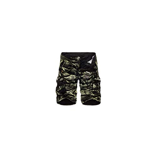 Aerotech Bike Shorts (Camouflage Camo Cargo Shorts Men New Casual Loose Work Military Short Pants Plus Size)