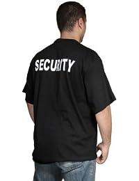 Camiseta de manga corta, diseño en el dorso con texto en inglés