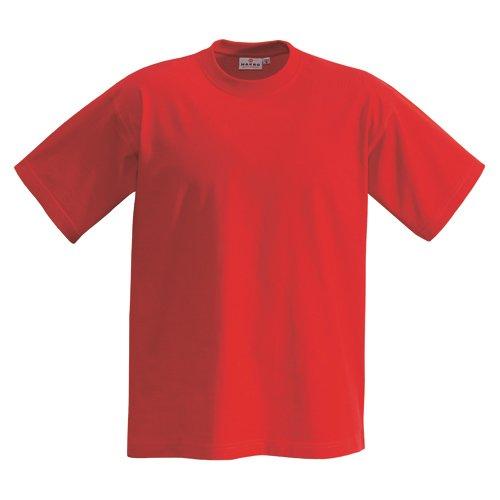 HAKRO T-Shirt 'Heavy', rot, Größen: XS - XXXL Version: L - Größe L (Activewear Rot)