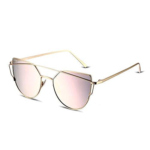 Culater® Hommes Femmes Place Vintage Lunettes de lunette miroir Lunettes Lunettes de sport en plein air (B) OzUgK5h