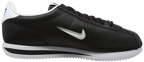Nike Cortez Basic Jewel, Sneakers Basses Homme Noir (Black/white)