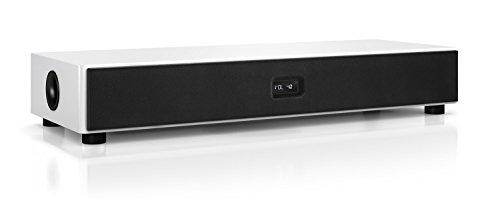 Nubert nuPro AS-450 Aktiv-Soundbar/TV-Lautsprecher 3.5-Wege (2X 100 Watt / 1x 300 Watt, Fernbedienung) weiß, Stück