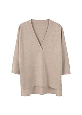 MANGO - Metallic sweater