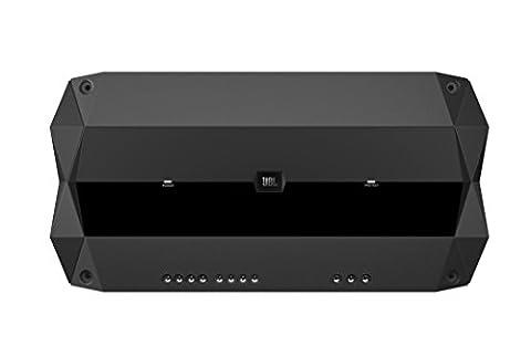 JBL Club 704 In-Car 4-Channel High Performance, High Efficiency, Low Distortion Amplifier (4 x 70W) - Black