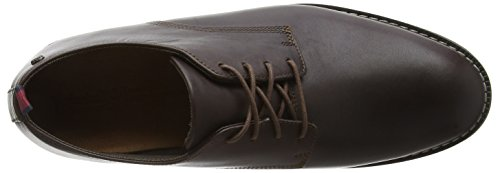 Timberland, Mens Brook Park Derby Stringate Marrone (marrone)