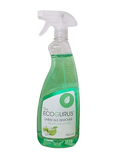 Il naturale anticalcare di EcoGurus!! - Acido senza mela ecologico - decalcificante, detergente per finestre, UPVC & altro! !