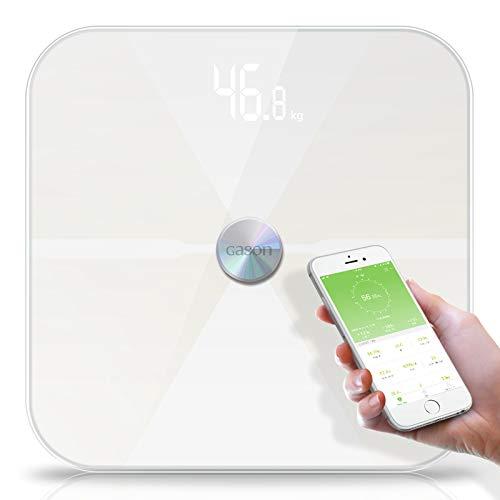 Báscula De Baño Inteligente, Bluetooth Body Fat Scale, Para El Peso Corporal, Grasa Corporal, Agua Corporal, Masa Muscular, Masa Ósea, IMC, Edad Metabólica, Bluetooth APP Android O IOS