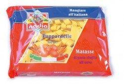 nadia Pappardelle italienische Eierbandnudeln 15mm (500g Beutel)