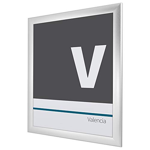 Bilderrahmen Alu gebürstet ('Valencia') 60X120cm