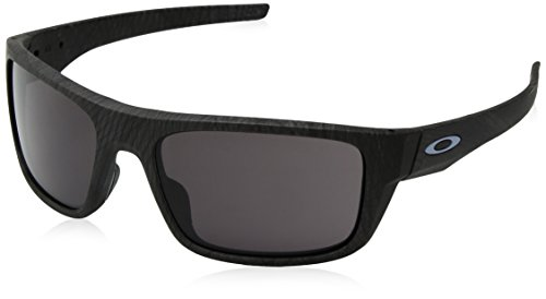 Oakley Herren Drop Point 936720 60 Sonnenbrille, Grau (Aero Grid Warm Grey)
