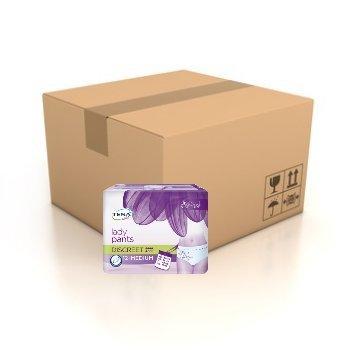 TENA Lady Pants Discreet Medium (M) - Inkontinenz-Windel in femininer Optik für mittlere Blasenschwäche (1 Karton = 6x12 = 72 Stück)