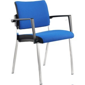 k.A. Meetingstuhl Premium 1 blau VE=2 Stück