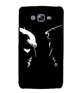 printtech Superhero Faceoff Comic Back Case Cover for Samsung Galaxy A5 / Samsung Galaxy A5 A500F