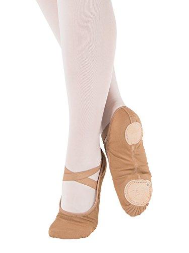 SD120-C So Danca Schläppchen - mittlere Weite - verschiedene Farben für Ballett Turn Gymnastik Sport Tanz Schläppchen Suntan