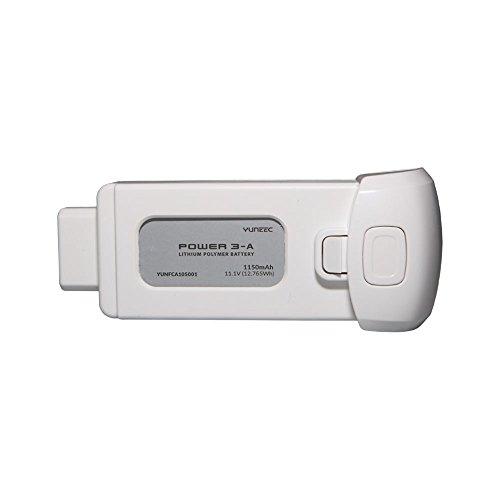Yuneec Breeze - Batería Li-Po 1150 mAh, color blanco