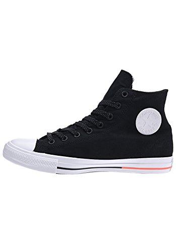 Converse Chuck 153792C Sneaker High black/white/lava Noir