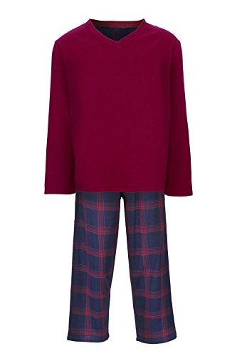 Fenside Country Clothing Herren Schlafanzug Rot