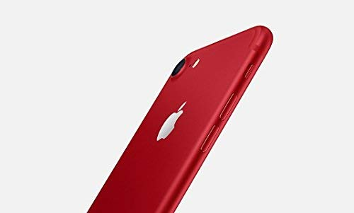 Apple iPhone 7 Single SIM 4G 128GB Red - smartphone (11,9 cm (4,7 pollici), 128 GB, 12 MP, iOS, 10, rosso) (Rinnovato)