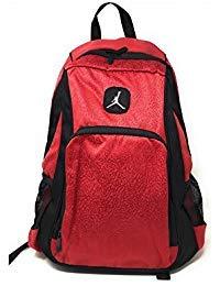 Nike Air Jordan Legacy Elite Black Red Backpack 20