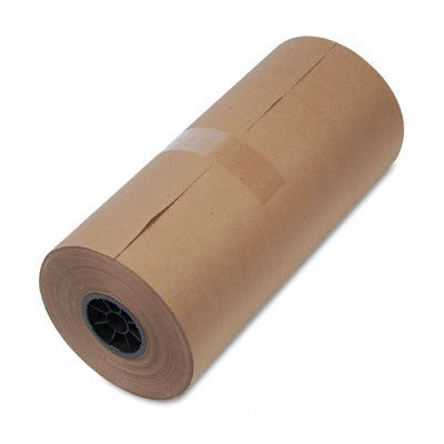 ly 1300015 40-Lb. mediumweight 9 dia. brown kraft wrapping paper roll, 18w x 900-ft. by United Facility Supply ()
