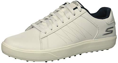 Skechers Golf 2019 Hommes Go Golf Drive 4 Chaussures de Golf sans Crampons White/Navy 8.5UK
