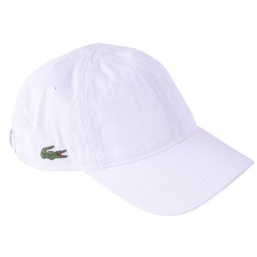 Weiß Plain Cap von Lacoste