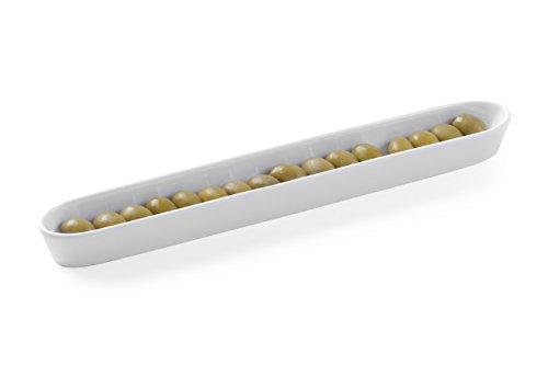 Hendi 785737 Olivenschale, Creme Weiß