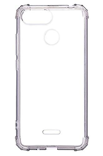 Parallel Universe Xiaomi Redmi 6 Back Cover Case Shock Absorbing TPU Backcover- Transparent