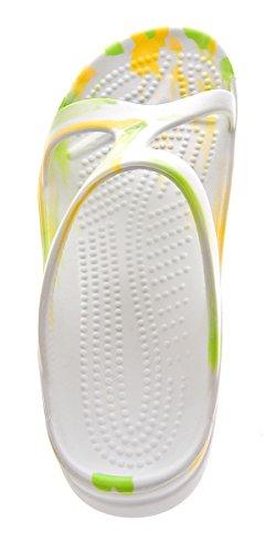 Slobby - Zapatillas De Mujer Blanco-verde