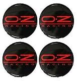 OZ Racing 4 Stück 60mm Aufkleber Emblem für Felgen Nabendeckel Radkappen