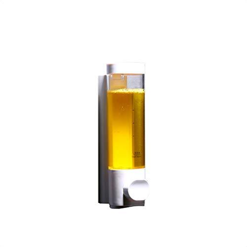 Precision Clean Refills (RLJJCS Seifenspender Dreikammer-Handseifen-Dreifachflasche 500ml X 3 aus Chrom-Pumpshampoo-Duschgel zur Wandmontage Händedesinfektionsbox (Color : White))