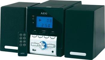 Kompaktanlage Musikanlage Stereoanlage MP3 LCD USB AUX Top Loading AEG