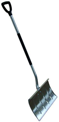 Schneeschieber Silver Maxx Alu mit Edelstahlkante und Thermogriff