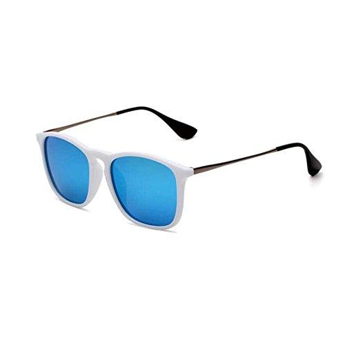 SCJ Sonnenbrille Für Männer Und Frauen High-Definition Polarisierte Sonnenbrille Mode Brille Fahren Sonnenbrille Sportbrille Anti-UV Anti-Glare (Farbe: 6)
