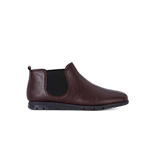 FRAU FX 53P2 bordeaux scarpe donna stivaletti tronchetti beatles pelle comfort Bordeaux