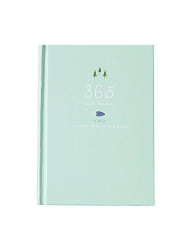Nette 365 Tage Planer Nachfüllungen Täglich Wöchentlich Monatliche Kalender Zeitplan Notizbuch Tagebuch Gebunden To-Do-Liste Buch Agenda Organizer Schule Schreibwaren (Hellgrün) (Fall Planer Mit)