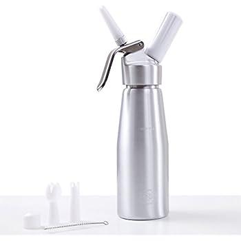 Impeccable Culinary Objects (ICO) 500ml Profi Sahnespender/Sahnesyphon für heiße und kalte Cremes und Soßen