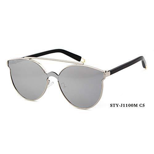 Taiyangcheng Gafas de sol de ojo de gato para Mujer, para Hombre, que conducen gafas de sol, Con montura de aleación,C5