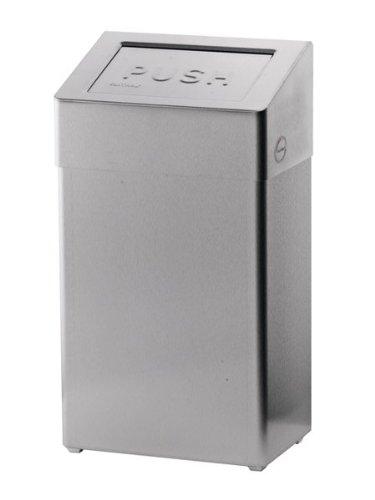 Ophardt SanTRAL ABU Abfallbox in 2 versch. Größen, Farbe:Edelstahl. Anti-Fingerprint-Beschichtung;Fassungsvermögen:50L