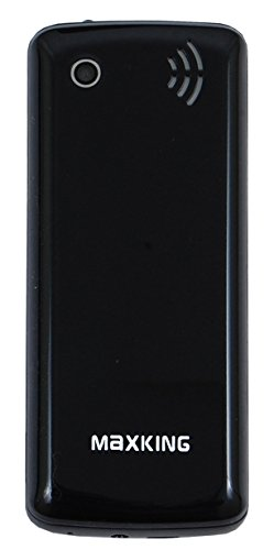 Maxking Dual Sim Big Battery Torch FM Mobile Phone Jumbo Model in Black Color