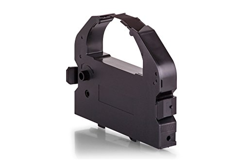 Inkadoo Farbbänder kompatibel zu Epson 7762, LQ680/7762 15262, C13S015016, C13S015262, S015016, S015262 - Premium Nylonband Alternativ - Schwarz