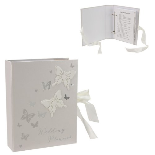 Butterfly Wedding Planner Organiser gift by Amore