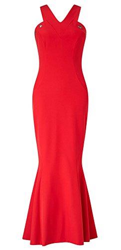 Nancy Eyelet Fishtail Dress