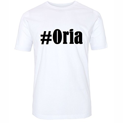 T-Shirt #Oria Hashtag Raute für Damen Herren und Kinder ... in den Farben Schwarz und Weiss Weiß