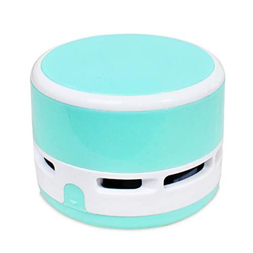 Mini aspiradora eléctrica sin Cable Escritorio Sweeper portátil de Mano Limpiador para casa Oficina Coche – Azul